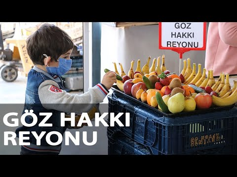 Markette Çocuklara Özel 'Göz Hakkı Reyonu' Uygulaması