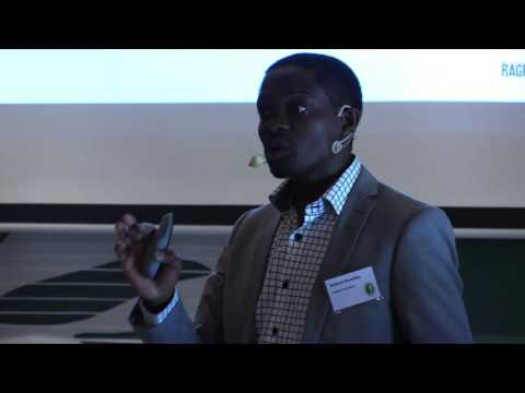 High Value Circulation in the Biosphere – Richard N. Mutafela på Ragn-Sells framtidsdag 2016