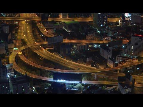 Bangkok night curfew leaves city highways deserted   AFP photo