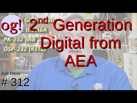 Second Generation Digital Products from AEA: PK-232 and DSP-232 (#312)