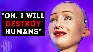 The Scariest Things Said By AI Robots