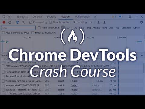 Chrome Dev Tools - Crash Course