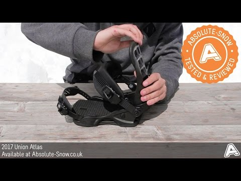2016 / 2017 | Union Atlas Snowboard Bindings | Video Review