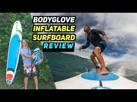 BodyGlove INFLATABLE SURFBOARD Review! | MicBergsma - UCTs-d2DgyuJVRICivxe2Ktg