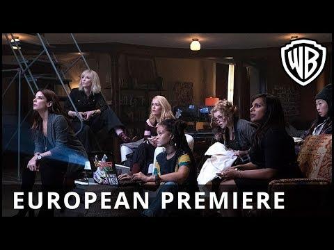 Ocean's 8 - Premiere Europea, Londres