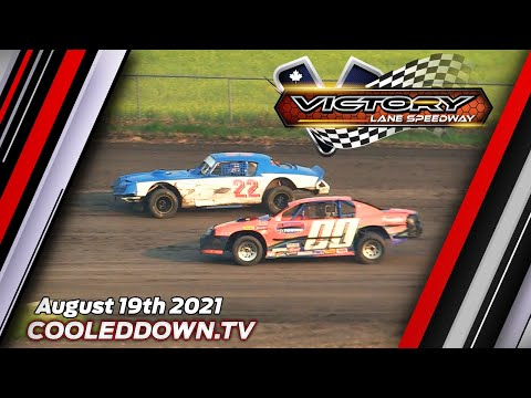 Thursday August 19th 2021 LIVE on PPV from Victory Lane Speedway - dirt track racing video image