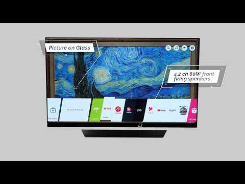 LG OLED E8 - 360 video