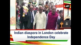 Indian diaspora in London celebrate Independence Day