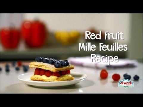 Red Fruit Mille Feuilles Recipe