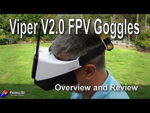 Quick Review: FXT Viper v2.0 FPV Goggles - UCp1vASX-fg959vRc1xowqpw