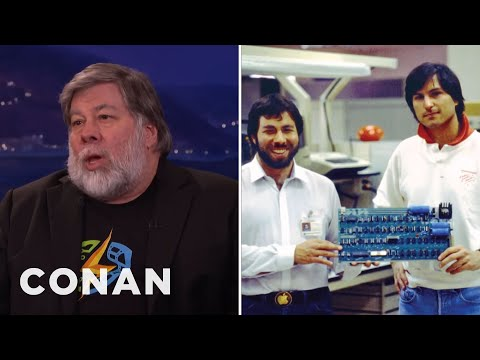 Steve Wozniak Interview Part 1 03/07/16  - CONAN on TBS - UCi7GJNg51C3jgmYTUwqoUXA
