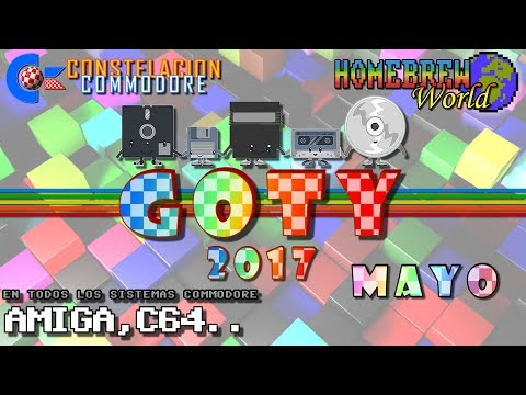 GOTY 2017 CC Mayo Juegos Amiga, C64, Plus4, VIC20.. | Homebrew World #0009