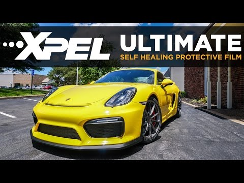 2016 Porsche Cayman GT4 Full XPEL Wrap - Clear Auto Bra St.Louis