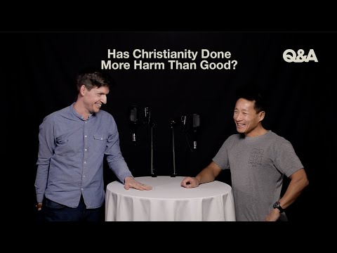 Glen Scrivener & Sam Chan  Has Christianity Done More Harm Than Good?  TGC Q&A