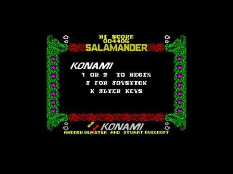 Grandes Decepciones: Salamander (Konami/Imagine) Spectrum