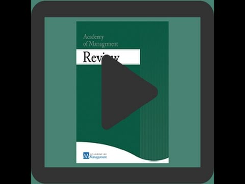 Integrating Emotions and Affect in Theories of Management
