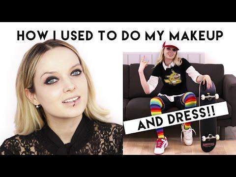 HOW I USED TO DO MY MAKEUP + DRESS! // MyPaleSkin - UC_0cZVAIcWOWiYxnY32gSgg