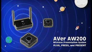 AVer AW200 Wireless Presentation System Intro Video