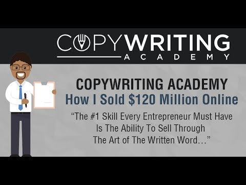 Digital Bootcamp Copywriting Academy Intro