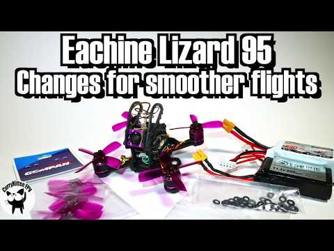 Making the Eachine Lizard 95 fly smoother - UCcrr5rcI6WVv7uxAkGej9_g