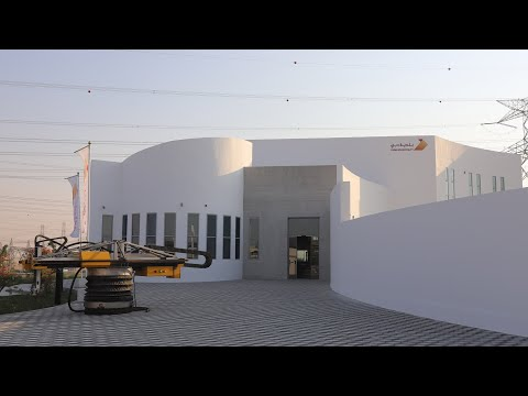 World's largest 3D-printed building completes in Dubai