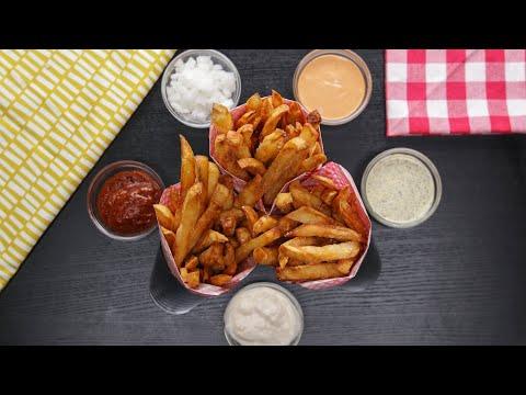 French Fries 3 Ways ? Tasty