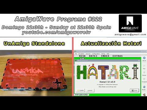 AmigaWave #222 - UnAmiga Standalone, noticias, Hatari y bases del sorteo de navidad 2020/2021