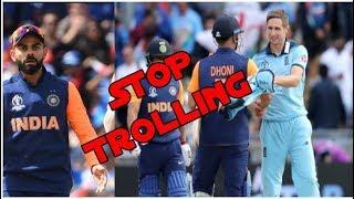 STOP Indians ! shame on Netigens For Bashing TEAM INDIA & Legend Dhoni |