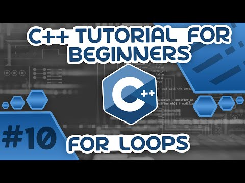 Learn C++ With Me #10 - For Loops