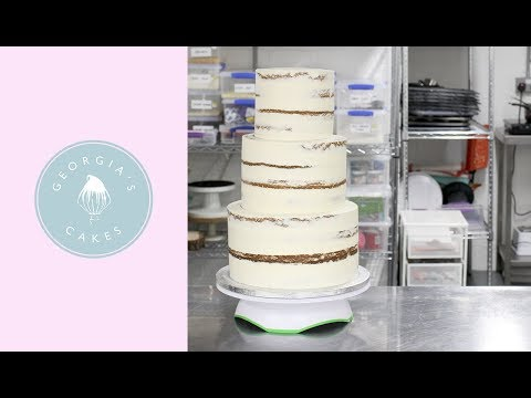 How To Stack A Tiered Cake | Georgia's Cakes