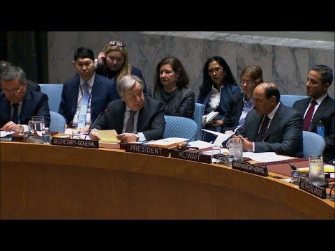 """غوتيريش يصف الوضع في الغوطة الشرقية بانه """"جحيم على الارض"""