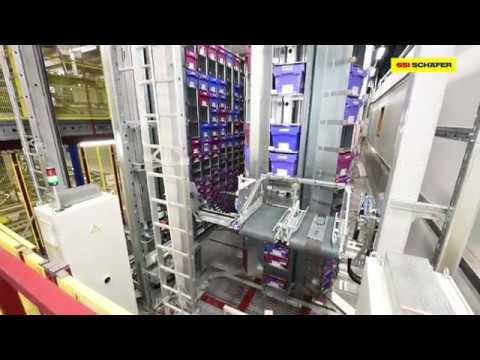 SCS Schäfer Carousel System: højeffektive lager- og plukkeprocesser på et minimum af plads