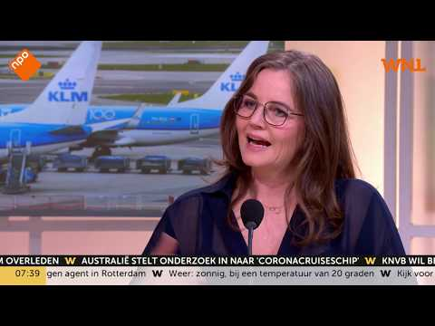 Grote klap voor KLM door corona: halvering van de passagiersaantallen