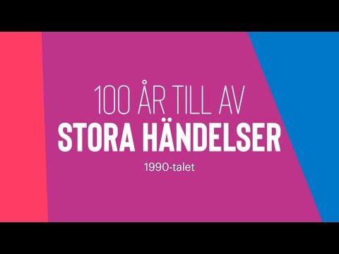 100 år till av stora händelser  – 90-talet