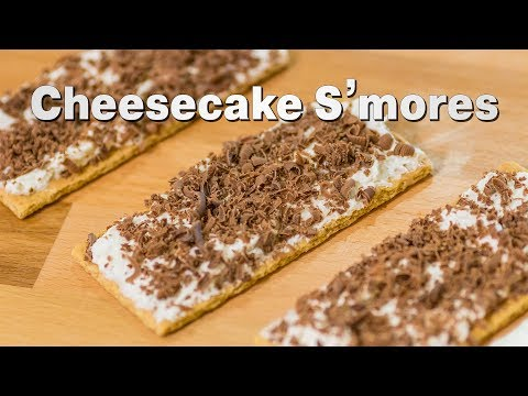 Cheesecake Smores (No Campfire Needed)