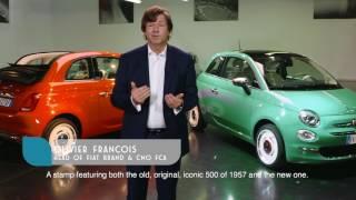 Fiat 500 Anniversario – Luca Napolitano presents the 60th birthday tributes to the Fiat 500