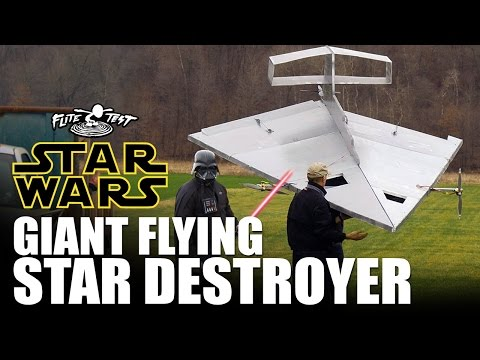 Giant Flying RC Star Destroyer  |  STAR WARS - UC9zTuyWffK9ckEz1216noAw