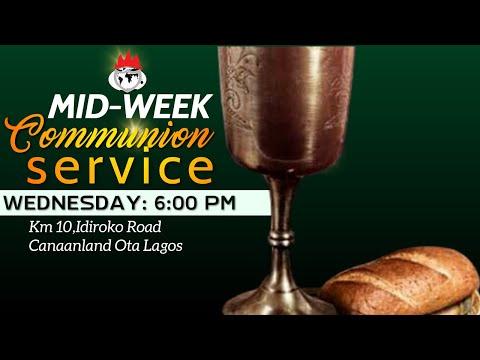 DOMI STREAM: MID-WEEK COMMUNION SERVICE  24, MARCH 2021  FAITH TABERNACLE OTA