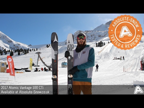 2016 / 2017 | Atomic Vantage 100 CTi Skis | Video Review