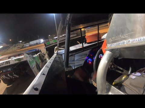 Adam Partain In Car at Lavonia Speedway 602 Thunder Series - dirt track racing video image