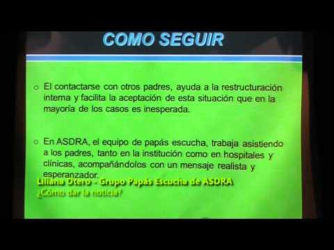 Jornada sobre Sindrome de Down en Fundación Barceló- 1º Parte