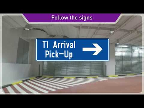 Relocation of Terminal 1 Arrival Pick-up