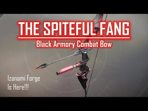 Black Armory Bow - The Spiteful Fang - PVP Gameplay Review - VidVui