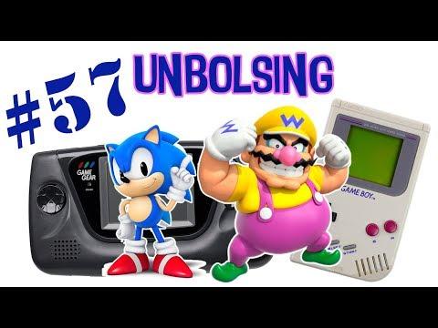 UNBOLSING 57 SONIC, WARIO Y LA GAME GEAR POR MEDIO