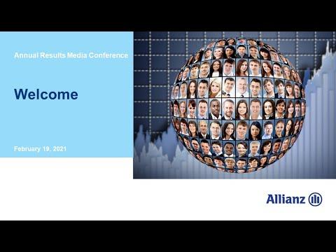 Allianz Gruppe Bilanzmedienkonferenz 2021
