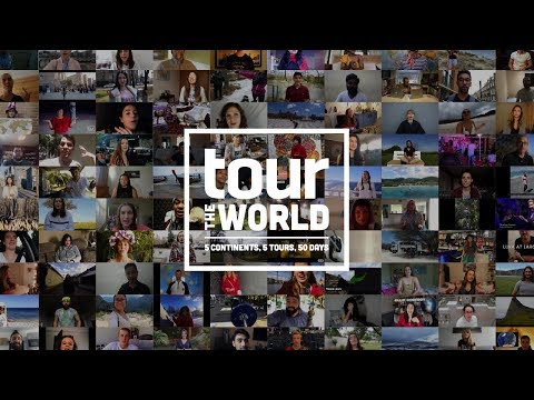 A special message from Tour the World