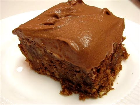 Betty's Mississippi Mud Cake  --  CHOCOLATE!