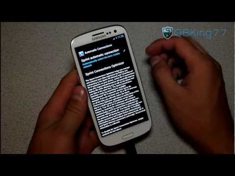 Sprint Samsung Galaxy S III: Stop Wifi Radio from Automatically Turning On and Off - UCbR6jJpva9VIIAHTse4C3hw