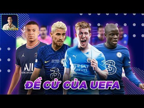 ĐÂU LÀ CHỦ NHÂN CỦA NHỮNG ĐỀ CỬ CỦA UEFA?