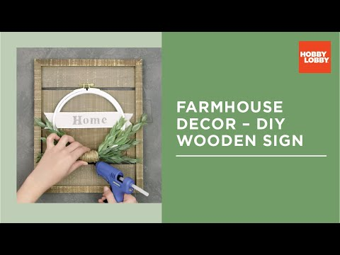 Farmhouse Sign DIY